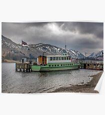 Tourist Boat at Glennridding Poster