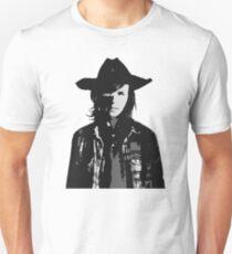 The Walking Dead - Carl Grimes Profile T-Shirt