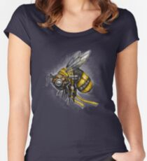 Bumblebee Shirt (for dark shirts) Women's Fitted Scoop T-Shirt