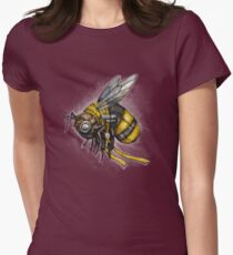 Bumblebee Shirt (for dark shirts) Womens Fitted T-Shirt