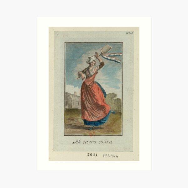 Ah ca ira - French Revolution - 1790 Art Print