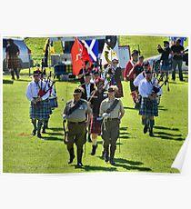 Clans on the Coast 2014 - Australian Light Horse Brigade Poster
