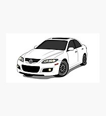 Mazda Mazdaspeed Photographic Print