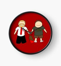 Shaun of the Dead Clock