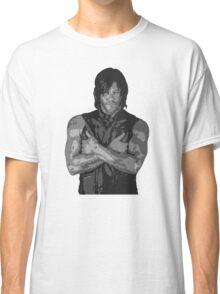 The Walking Dead - Daryl Dixon Profile Classic T-Shirt
