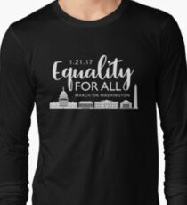 Women's March On Washington 2017 Long Sleeve T-Shirt