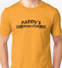 Paddys Irish Pub black Unisex T-Shirt