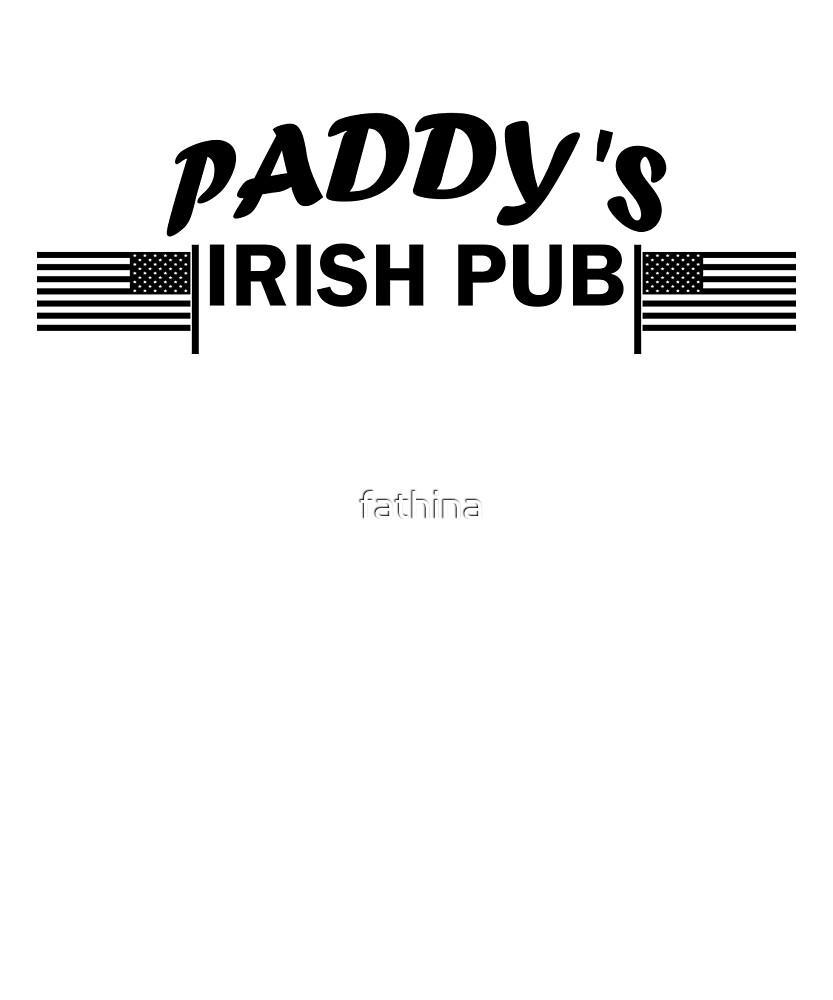 Paddys Irish Pub black by fathina