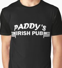 Paddys Irish Pub white Graphic T-Shirt