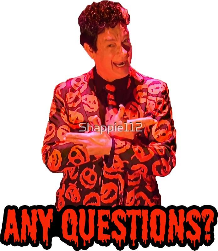 Quot David S Pumpkins Any Questions Ii Sticker Quot Stickers