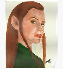 Tauriel The hobbit Poster