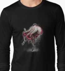 Octo Stilts Shirt (for dark shirts) Long Sleeve T-Shirt