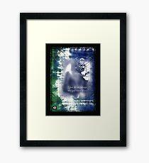 ghandi Framed Print