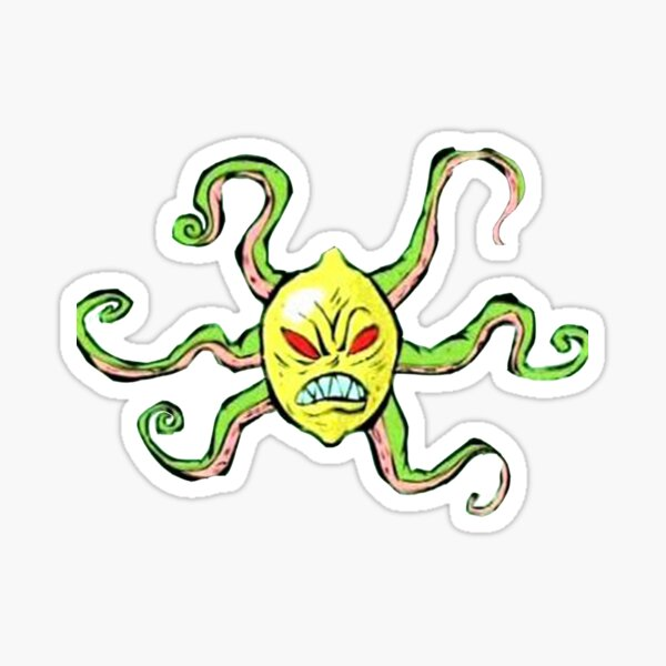 Every Villian Is Lemons Sticker