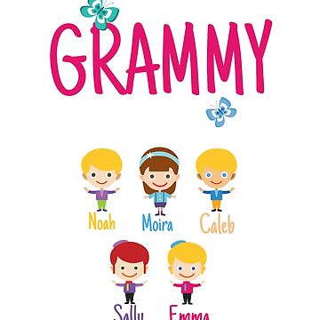 This Grammy belongs to Noah Moira Caleb Sally Emma by MyFamily