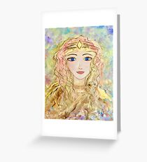 Beatrice, Angel of Peace Greeting Card