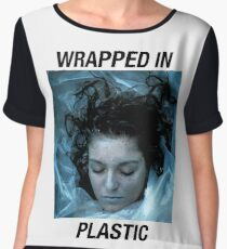 Wrapped in plastic Chiffon Top