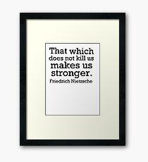 Stronger 2 Framed Print