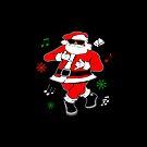 JuJu Dance Black Santa by EthosWear