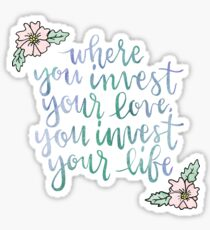 Mumford & Sons, Awake My Soul Sticker