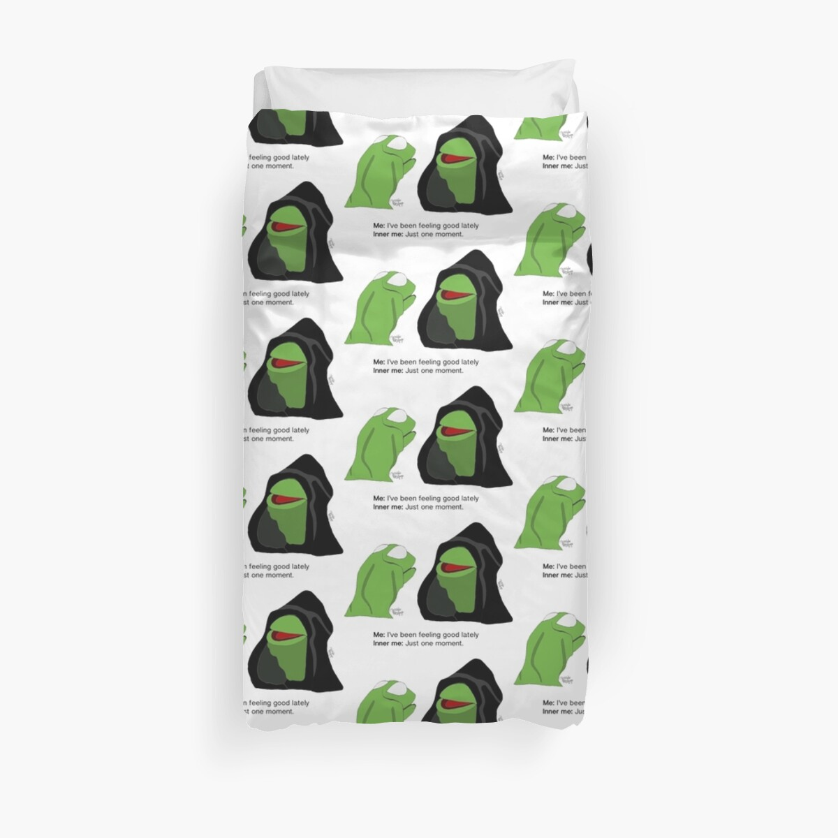 25f76dc054e Evil Kermit  Anxiety Starter by Matilda Bishop  Official Redbubble