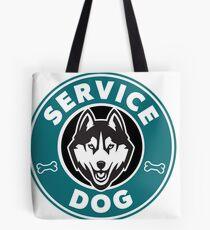 Service Dog Badge Tote Bag
