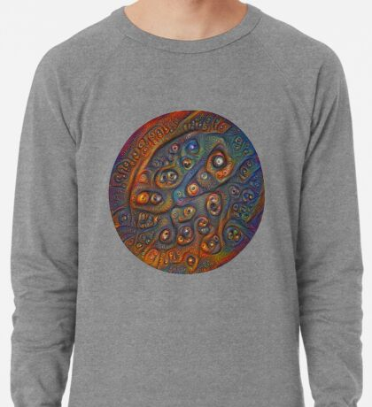 Planet Three #Deepdream Lightweight Sweatshirt