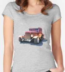 Sunset Ride Women's Fitted Scoop T-Shirt