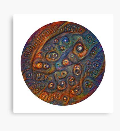 Planet Three #Deepdream Canvas Print