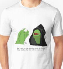 Evil Kermit: Shopping Habits Unisex T-Shirt