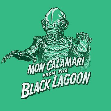 Mon Calamari of the black lagoon by Gimetzco