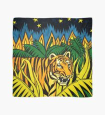 Tiger Tiger Burning bright Scarf