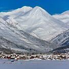 Postcard Shot of Crested Butte by Ryan Wright