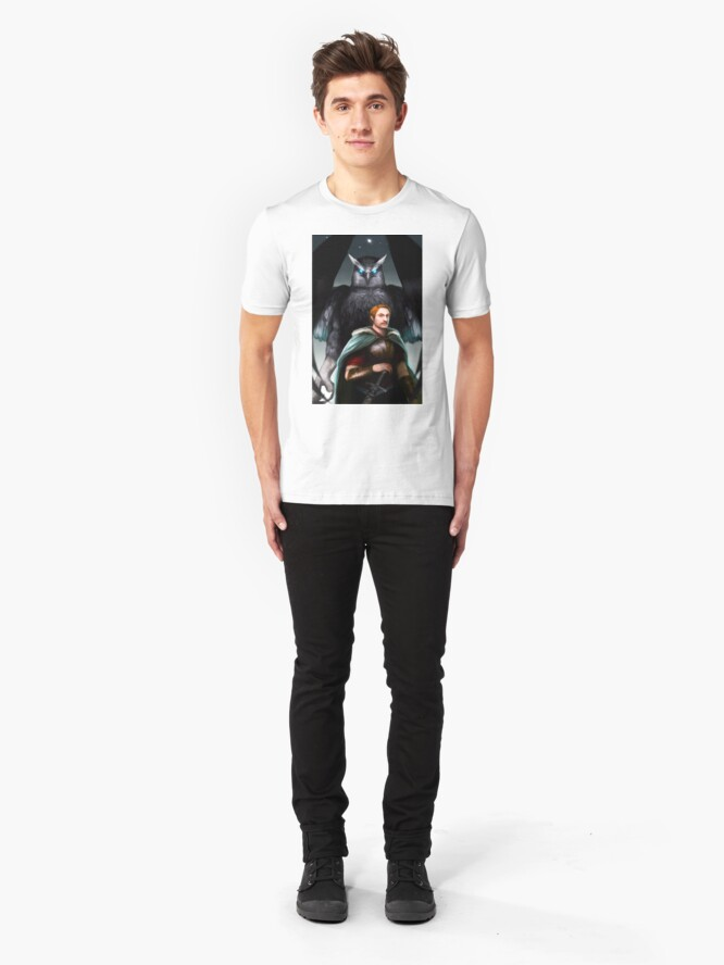 Alternate view of The Last Guard Cover Art Slim Fit T-Shirt