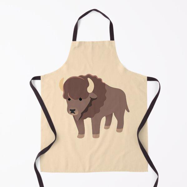 Bison the American buffalo Apron