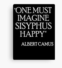 Sisyphus 3 Canvas Print