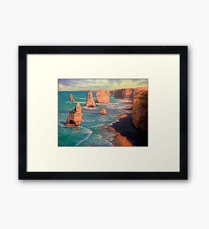 The 12 Apostles, Australia Framed Print