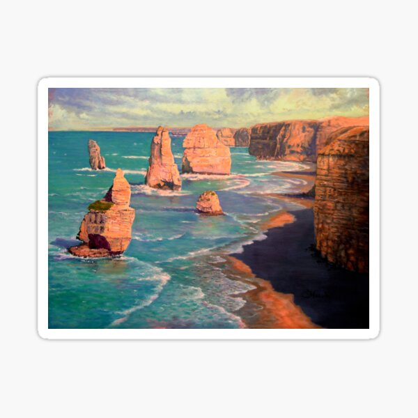 The 12 Apostles, Australia Sticker