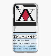 Hunter License  iPhone Case/Skin
