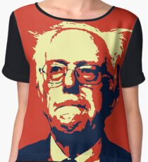 HINDSIGHT IS 2020- Bernie Sanders for President 2020 Chiffon Top
