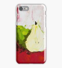 A Pear Behind iPhone Case/Skin