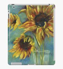 Sunflowers by Chris Brandley iPad Case/Skin