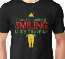 I Just Like Smiling, Smiling is my Favorite Funny Unisex T-Shirt