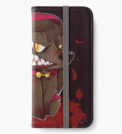 Little Red Werewolf iPhone Wallet