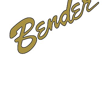 Bender Guitars in GOLD by AddictGraphics