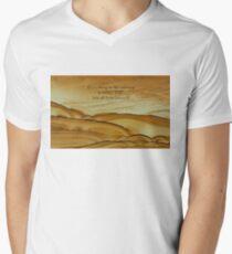 Rumi inspirational SPIRITUAL quote Men's V-Neck T-Shirt