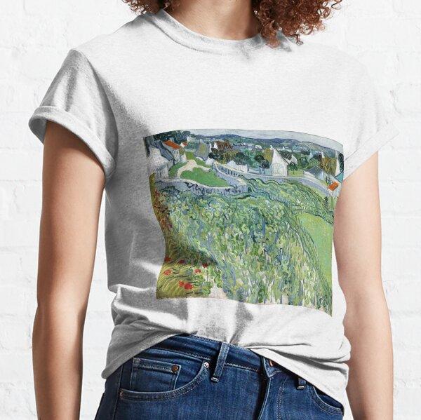 Vincent van Gogh's Vineyards at Auvers  Classic T-Shirt