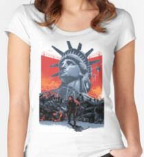 Escape From New York Women's Fitted Scoop T-Shirt