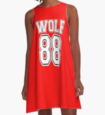 ♥♫I Love KPop-Awesome EXO WOLF 88♪♥ A-Line Dress