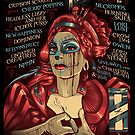 Poster for Skelebration   Skeletal Family et al   Kerri Langley by caseycastille